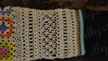 For sleeve use crochet charts 4, 3 and 2. For edging use chart 5.