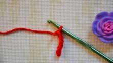 Как спрятать хвостик в начале вязания