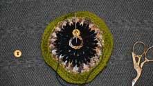 Crocheted Biscornu