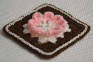 Бабушкин квадрат Шоколадный тортик