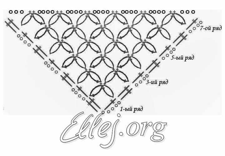 Схема бактуса из соломоновых петель