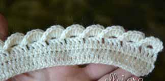 Crochet 3D Edging