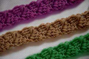 How To Crochet Chain Braid