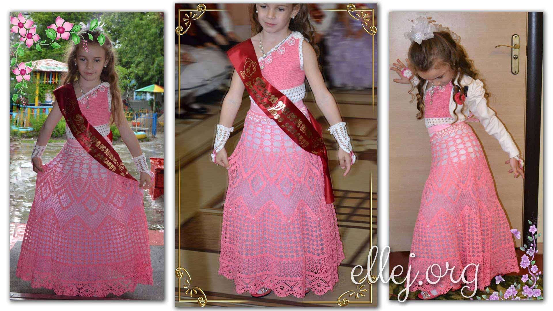 Платье на выпускной в садик своими руками мастер класс 53