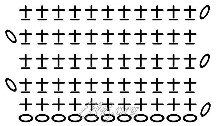 Схема вязания резинки из столбиков без накида