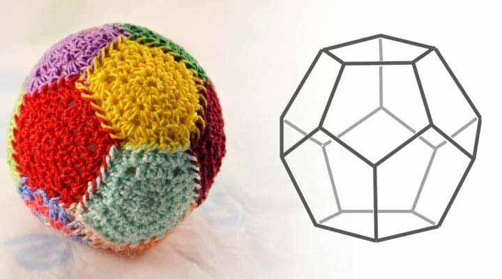 Мячик додекаэдр