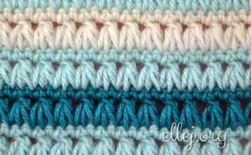 Triads Crochet Stitch