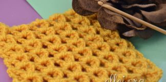 Yellow Sea crochet stitch