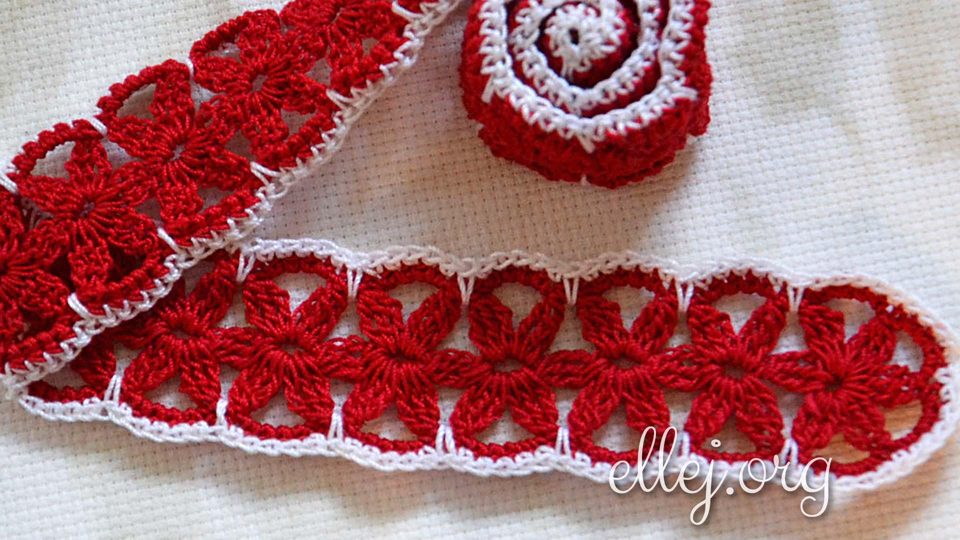 Декоративный пояс | Вязание крючком от Елены Кожухарь