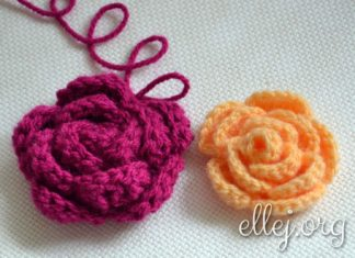 Crochet Chinese Rose