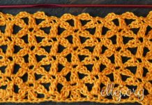 Intersecting Flowers Crochet Stitch