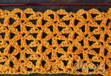 Intersecting Flowers Crochet Stitch