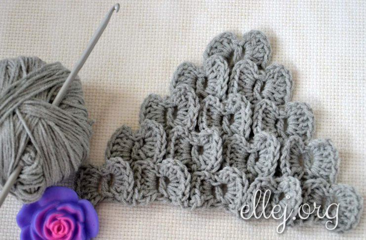 Dandy-fly Сrochet Stitch