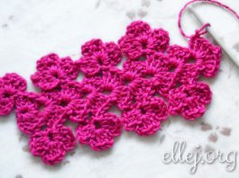 Crocheted Flower Lace/Edging