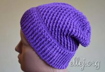 Galaxy beany hat