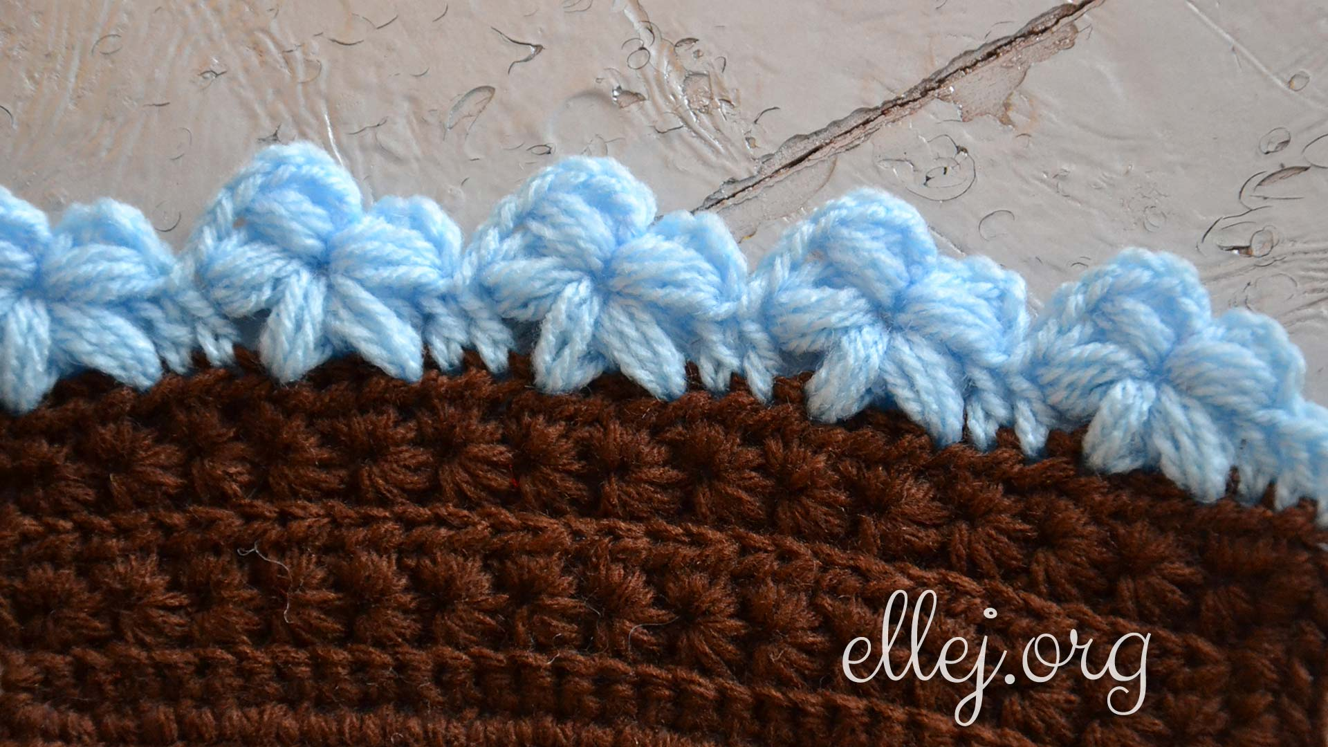 crochet stitch instructions with pictures