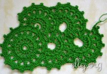 Crochet Tape Lace #3
