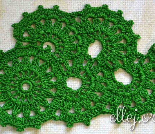 Crochet Tape Lace #3