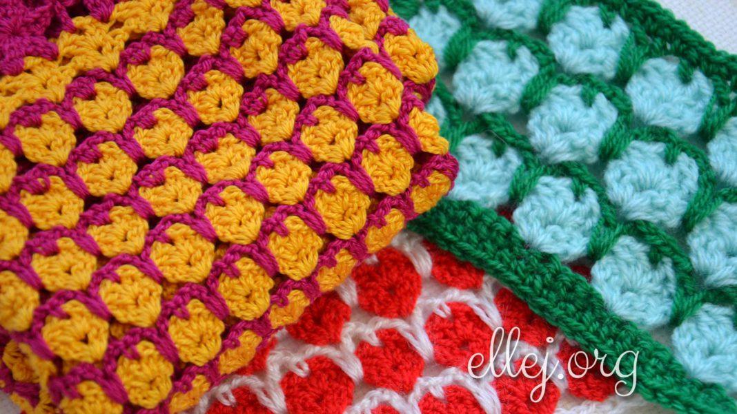 Разноцветный Узор Джелли крючком