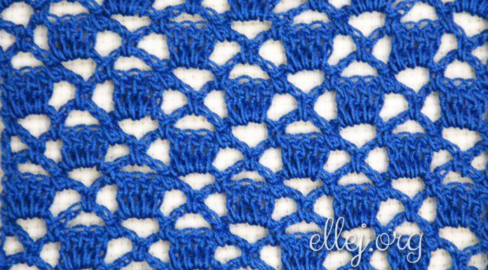 openwork crochet stitch 004