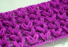 Puff crochet stitch