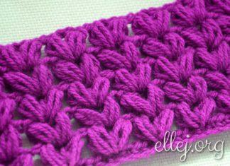 Puff crochet stitch