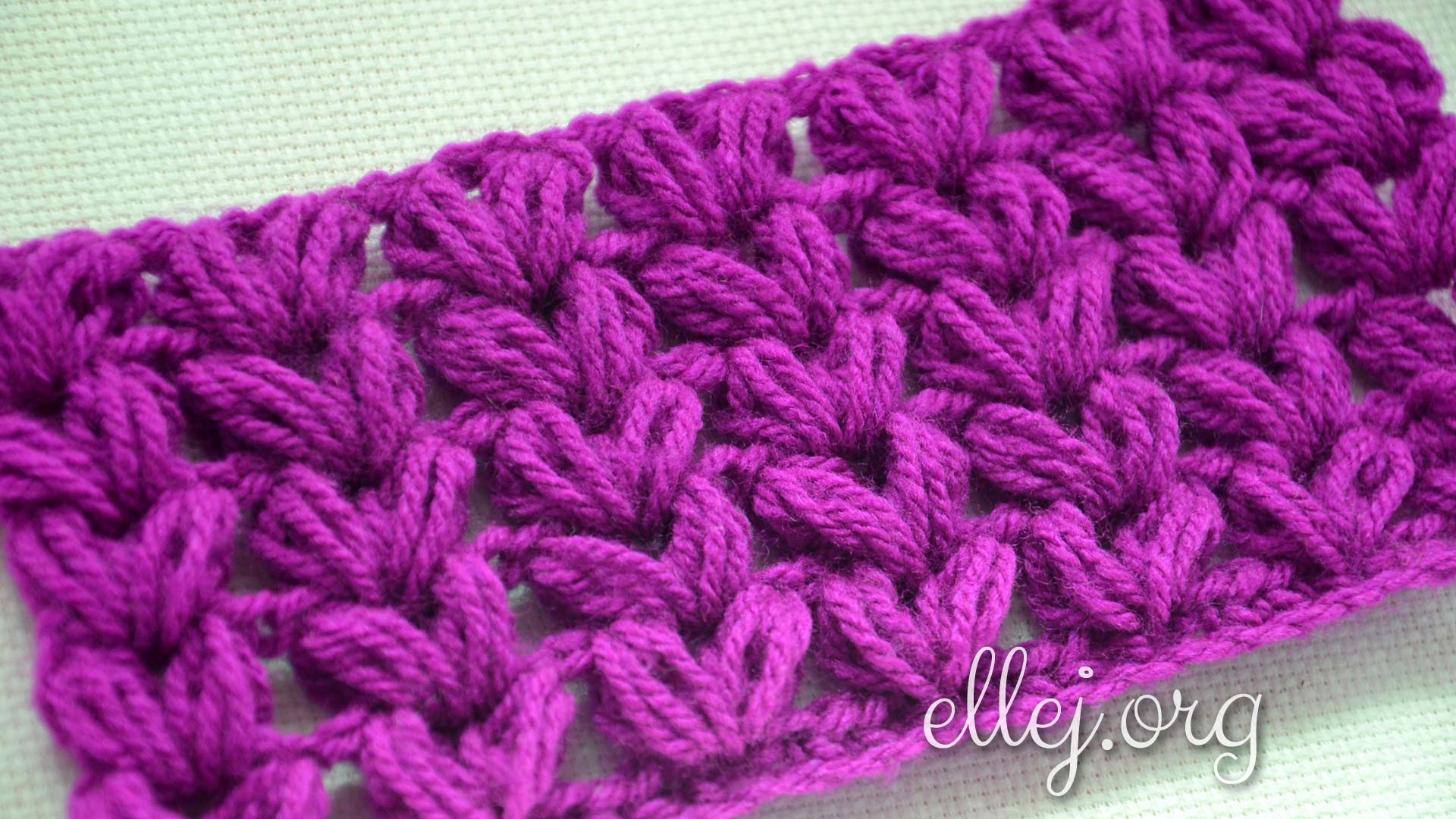 Puff Crochet Stitch Tutorials Instructions