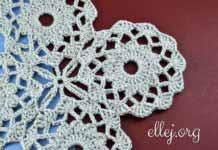 Ажурные многоугольные мотивы • Безотрывное вязание
