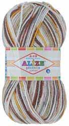 Alize Sekerim Junior 4-12 ages: 320 м в 100 г, 100% акрил, цвет 712
