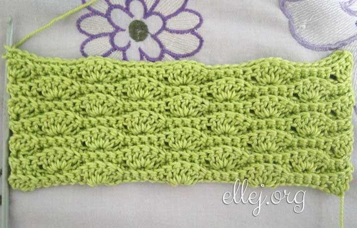 Easy Wavy Crochet Stitch for a blanket or a scarf