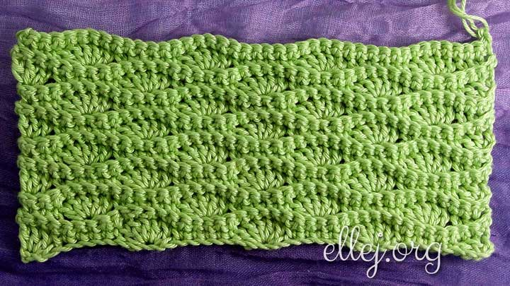 Easy Wavy Crochet Stitch for a blanket or a scarf
