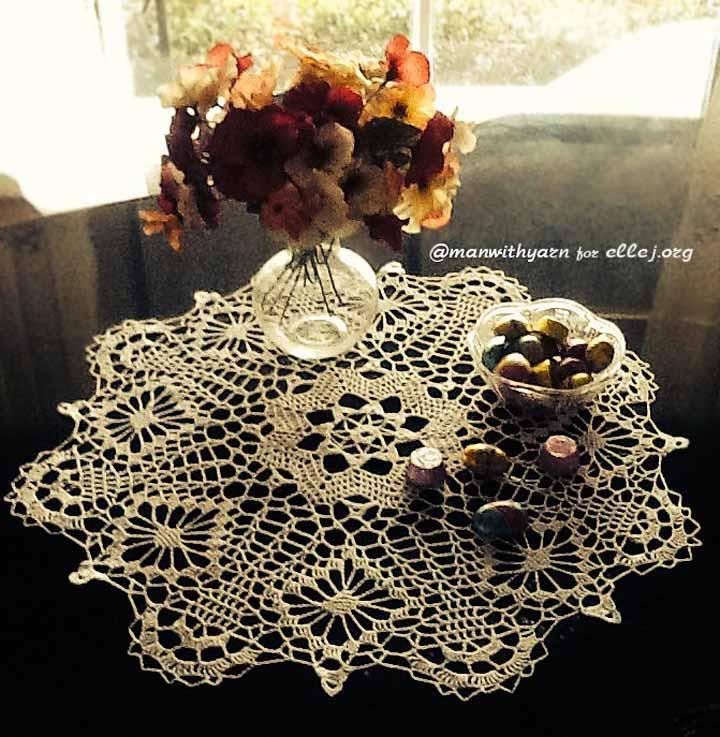 Crochet Doily Perferct Mood