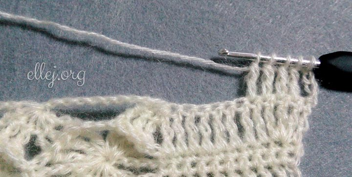 Вязание рукава. Убавления