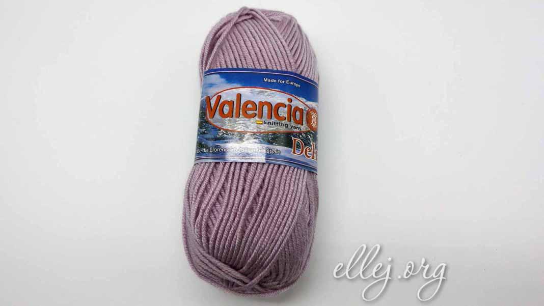 Обзор пряжи для вязания Valencia Delmara