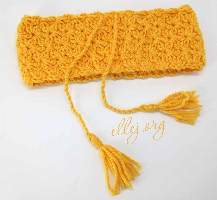 Мастер-класс по вязанию шарф-труба крючком узор звездочки