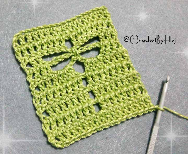 Dragonfly Crochet Stitch