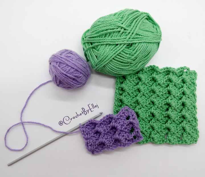 3d Crochet Stitch