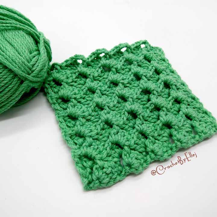 Armor Crochet Stitch