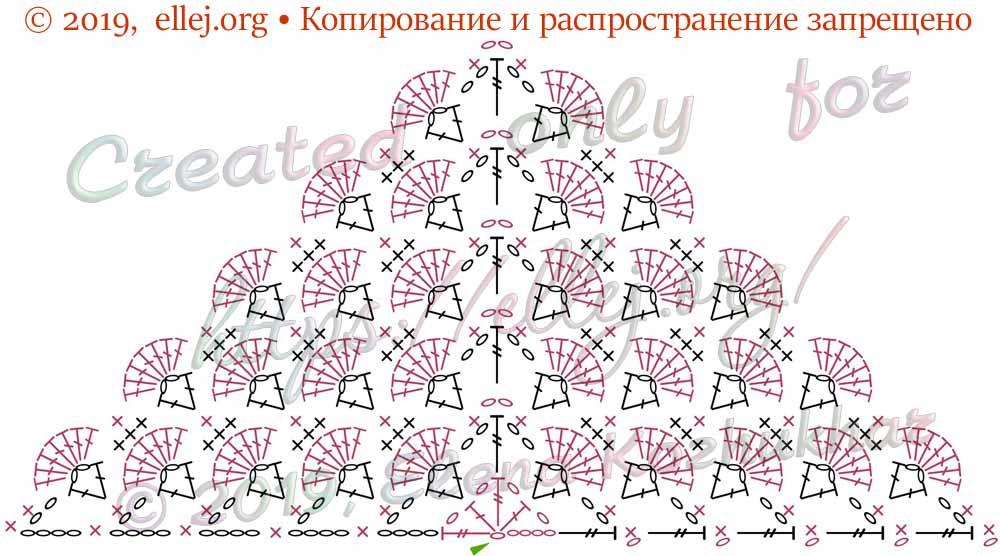 Схема бактуса шали 068