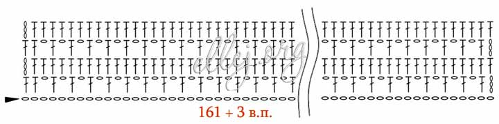 Схема первых 4-х рядов топа